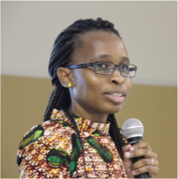 The executive manager: Poverty and Inequality Statistics Nozipho Shabalala